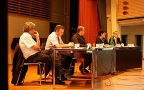 Podiumsdiskussion an Kantonsschule Solothurn